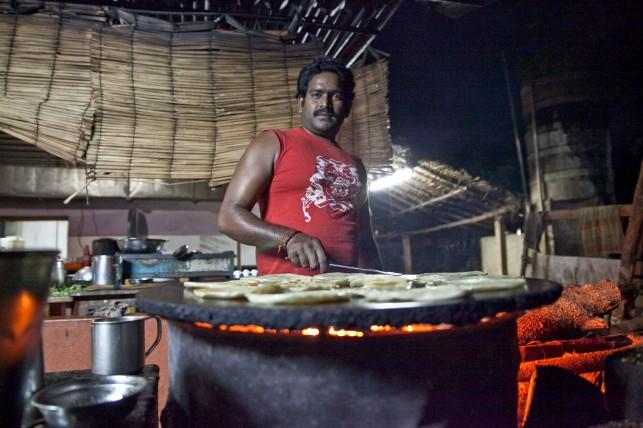 Cocinero en Auroville