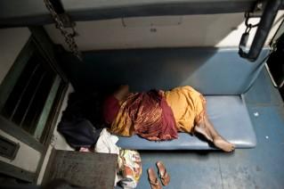 Dormir en el tren