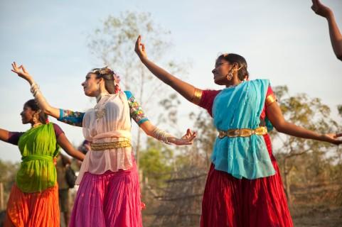 Bailes en Auroville