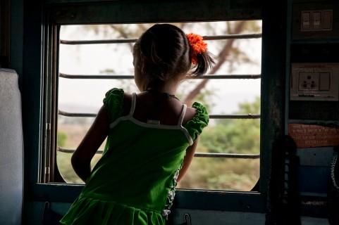 Miramos desde el tren